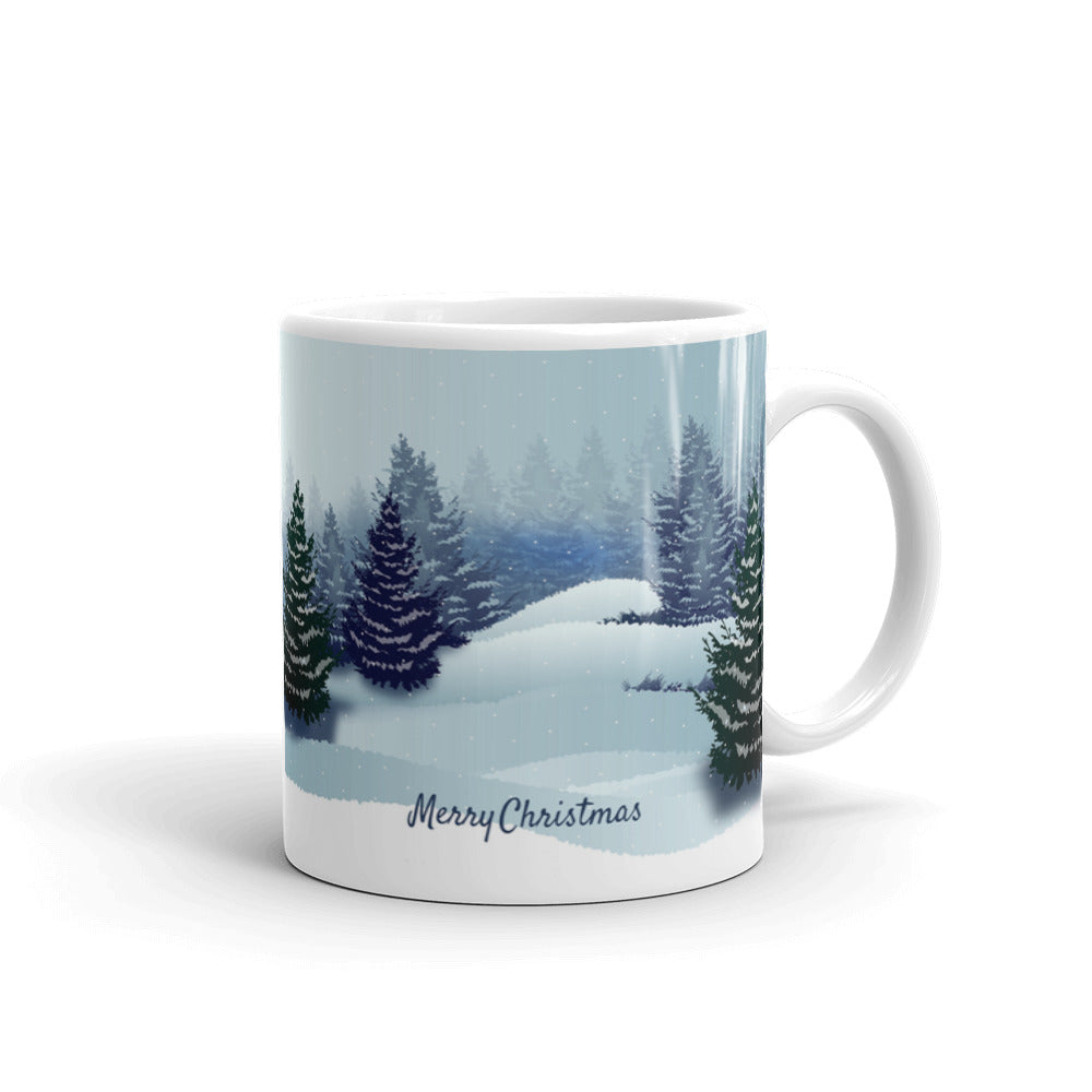 Load image into gallery viewer merry christmas mug cool coffee cups and stuff