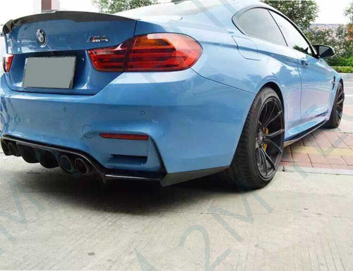BMW M4 F82 Carbon M Performance Side Skirts - 2MTechnics