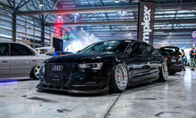 Load image into Gallery viewer, Audi A5 S5 B8.5 S-Line Carbon Front Bumper Lip - 2MTechnics