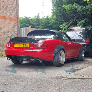 Mazda MX-5 NB NA Wide style side skirts steps - 2MTechnics