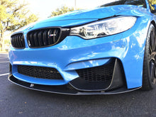Load image into Gallery viewer, BMW M3 M4 F80 F82 F83 M Performance Front Spoiler Splitter Lip Carbon 3 Piece - 2MTechnics
