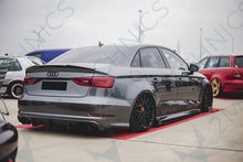 Load image into Gallery viewer, Audi A3 S3 V8 S-Line Carbon Diffuser - 2MTechnics
