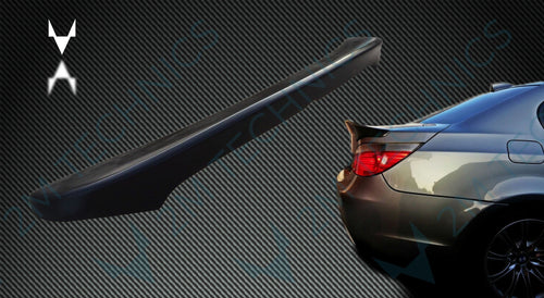 BMW E60 Spoiler CSL M Paket look Rear Sport Agressive Ducktail 5 series - 2MTechnics