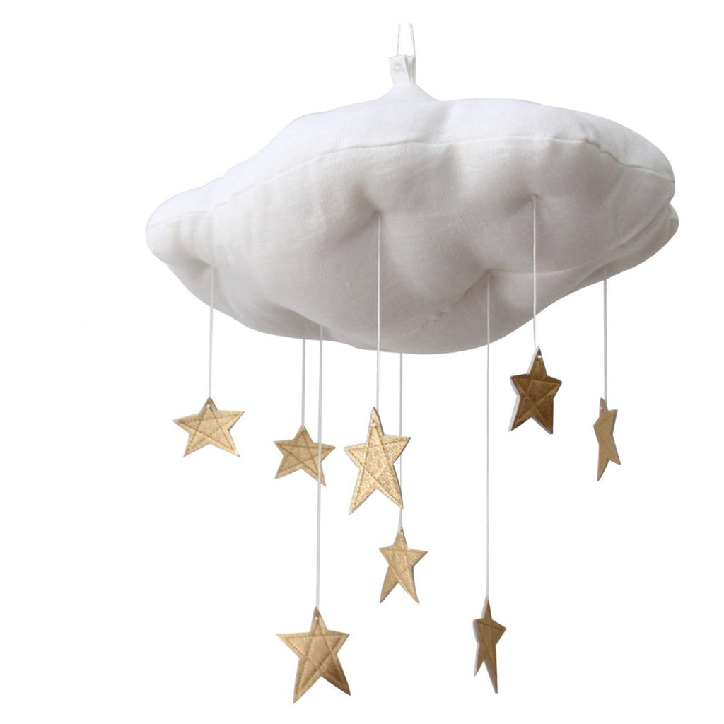 13 Luxe Gold Star Cloud (large) - NO MOON (ships separately
