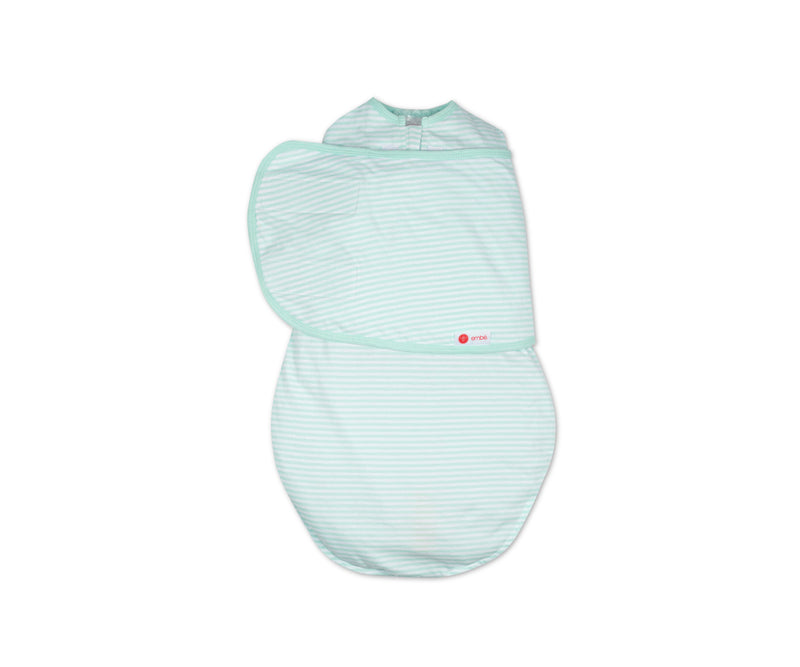 Classic 2-Way Swaddle | Mint Stripe