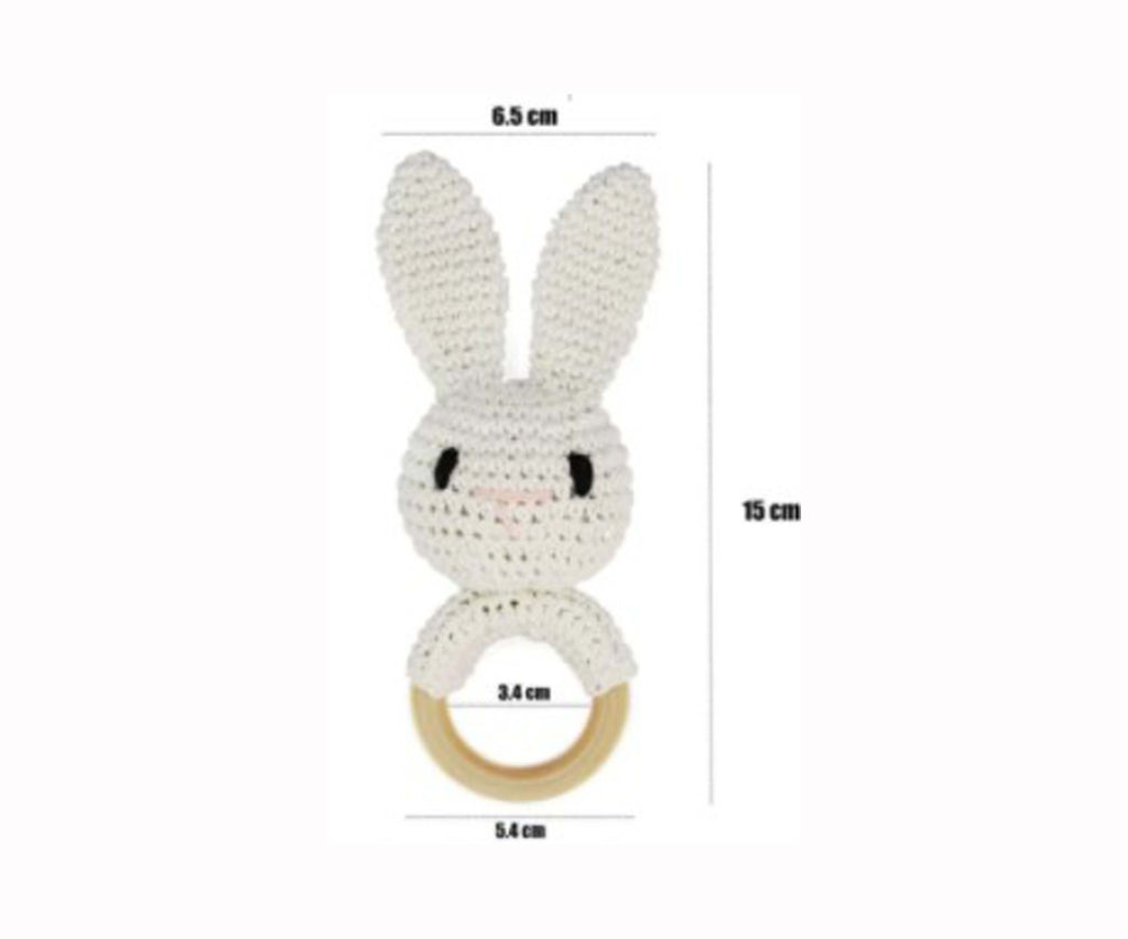 Bunny | Animal Wooden Rattle