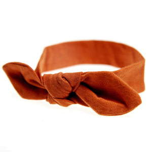 Bow Headband | Rust