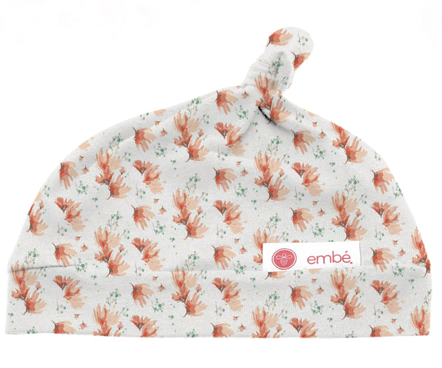 Top Knot Hat   Blush Blossom 1