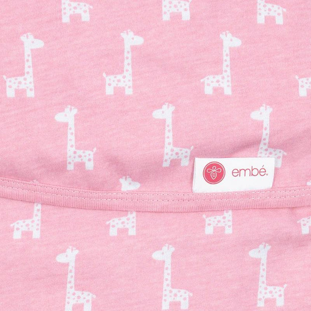 Transitional Swaddle Out | Pink Giraffes 1