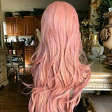 Pink Beauty Lacefront Wig 24-28 inches - Goddess Beauty Royal Wigs