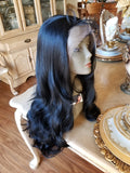 Wavy Beauty Lace Front Wig 22-24 inches!! - Goddess Beauty Royal Wigs