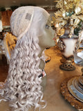 Light Gray AshBlonde Beauty Lace Front Wig 22-26 inches!! - Goddess Beauty Royal Wigs