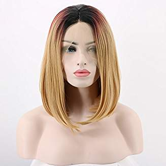 Ombre 3t Tones Lacefront Wig Jolie - Goddess Beauty Royal Wigs