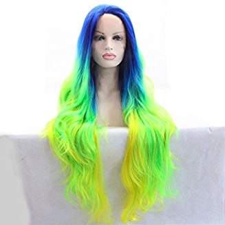 Ombre Mermaid Simple Beauty Wig Gracen - Goddess Beauty Royal Wigs