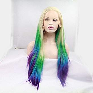 Mermaid Ombre Wig Royce - Goddess Beauty Royal Wigs