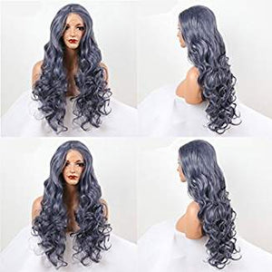 Gray Beauty Lacefront Wig Zaraiah - Goddess Beauty Royal Wigs