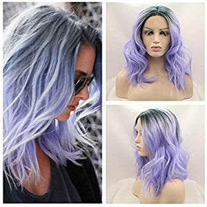 Darkroot Lilac Purple Lacefront Wig Jolie - Goddess Beauty Royal Wigs
