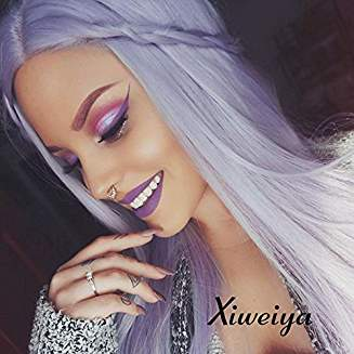 Light Purple Lacefront Wig Kaia - Goddess Beauty Royal Wigs