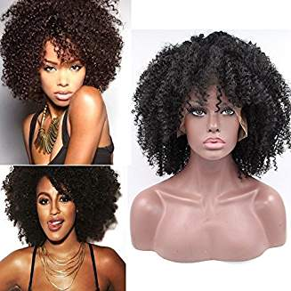 Kinky Afro Lacefront Wig Amara - Goddess Beauty Royal Wigs