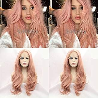 Pink Beauty Lacefront Wig Marini - Goddess Beauty Royal Wigs