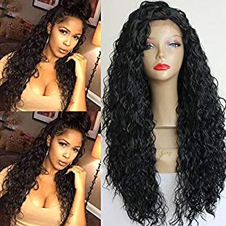 Loose Curly Lacefront Wig Star - Goddess Beauty Royal Wigs