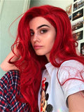 Red Beauty Lace Front Wig 24-26 inches!! - Goddess Beauty Royal Wigs
