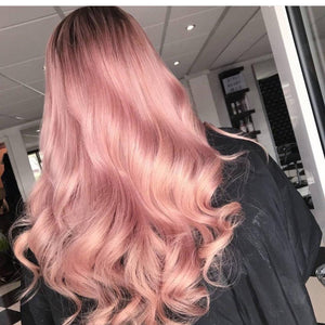 Ombre Pink Beauty Lace Front Wig 24-26 inches!! - Goddess Beauty Royal Wigs