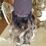Ombre Blonde Body Wave Lace Front Wig 22-24 inches!! - Goddess Beauty Royal Wigs