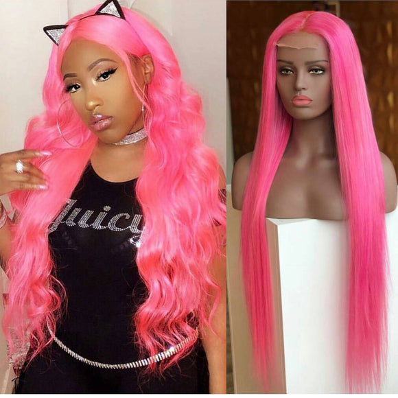 Kept Virgin Human Hair Lace Front Wig - Goddess Beauty Royal Wigs