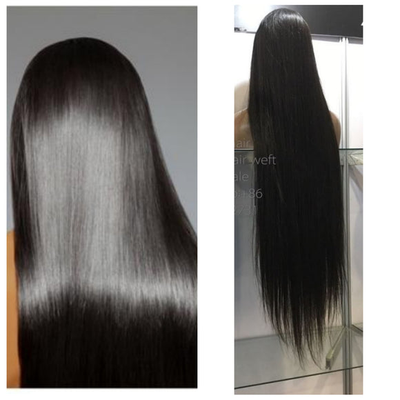 Mink Virgin Remy Human Hair Full Lace Wig-Part Anywhere!! - Goddess Beauty Royal Wigs