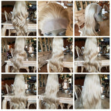 Ash Blonde Lace Front Wig 24-26 Inches!! - Goddess Beauty Royal Wigs