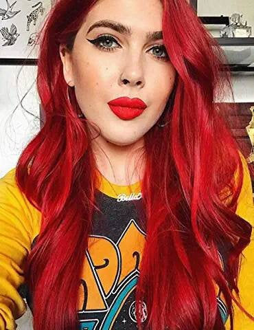 Red Beauty Lace Front Wig - Goddess Beauty Royal Wigs