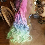 Rainbow Beauty Lace Front Wig - Goddess Beauty Royal Wigs