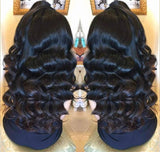 Hollywood Body Wave Beauty Lace Front Wig - Goddess Beauty Royal Wigs