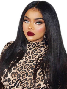 Black Straight//LaceFrontWig//GorgeousHair//Straight/Silky Straight//Natural//Wigs for Women//Beautiful//Gorgeous//Wig//Yaki - Goddess Beauty Royal Wigs