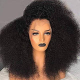 Black Curly// Human Hair/ Lace Front Wigs// Mongolian// Curly// Brazilian Remy//Wig//Glueless// Lacewig - Goddess Beauty Royal Wigs