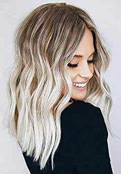 Ombre Blonde Beauty Waves Wig - Goddess Beauty Royal Wigs