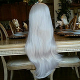 White Beauty Lace Front Wig - Goddess Beauty Royal Wigs