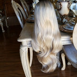 Blonde Ombre Beauty Lace Front Wig 24-28 inches!! - Goddess Beauty Royal Wigs