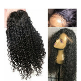 Curly Beauty Virgin Human Hair Lace Front Wig 14-16 inches - Goddess Beauty Royal Wigs