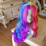 Rainbow Beauty Full Wig - Goddess Beauty Royal Wigs