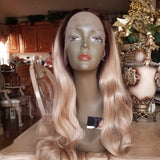Ombre Blonde Beauty Lace Front Wig - Goddess Beauty Royal Wigs