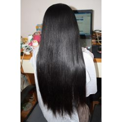 Yaki Human Hair Lace Front Wig 24-28 inches!! - Goddess Beauty Royal Wigs