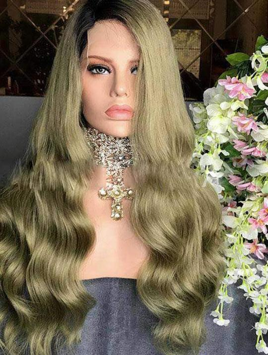 Star Virgin Human Hair Lace Front Wig - Goddess Beauty Royal Wigs