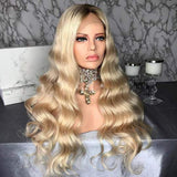 Blondie Virgin Human Hair Lace Front Wig - Goddess Beauty Royal Wigs