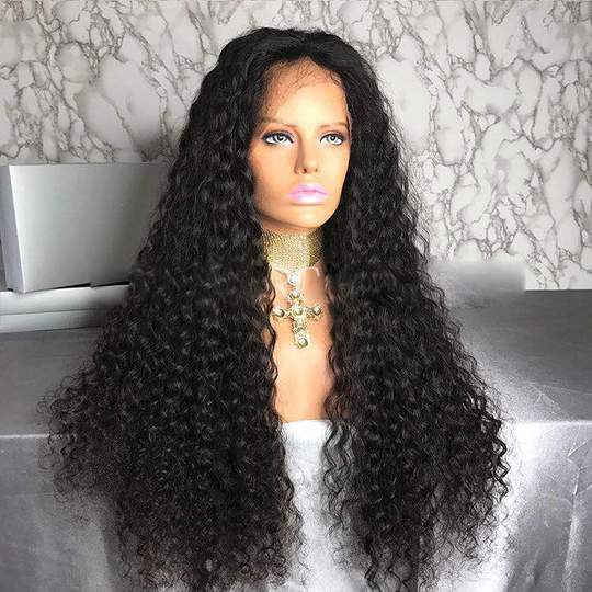 Virgin Human Hair Lace Front Wig - Goddess Beauty Royal Wigs