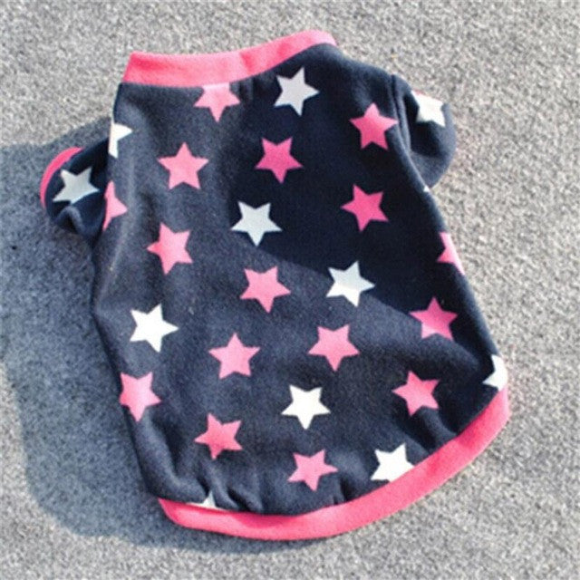 Dog Shirt with Star Design | Dog Clothes