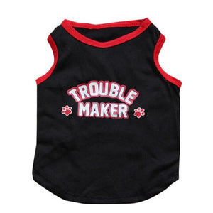 Little Rascal / Trouble Maker Dog Shirt | Dog Clothes