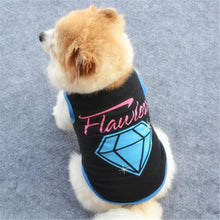 Flawless - Dog Shirt / Vest with Printed Design | Dog Clothes