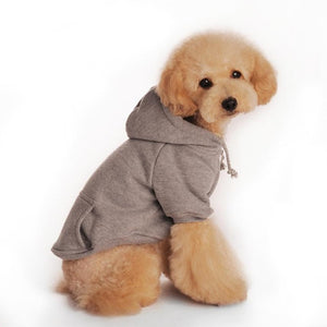 Winter Dog Jumper / Hoodie in Various Colours | Dog Clothes